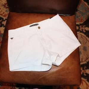Abercrombie & Fitch white shorts size 24